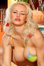 Sasha Colourful Bikini 05