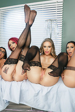 Rachel Starr, Nicole Aniston, Romi Rain, Anna Bell Peaks Pictures In The Last Dick On Earth 05