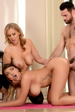 Julia Ann And Cassidy Banks  In Yoga Freaks 07