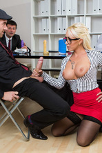 Naughty Secretary Christina Shine Fucks With Her Boss 04