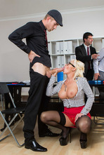 Naughty Secretary Christina Shine Fucks With Her Boss 07