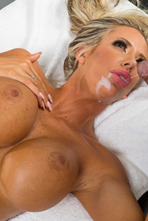 Big Boobed MILF Courtney Taylor Fucked By The Masseur 14
