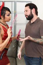 Horny Asian Whore Kimberly Chi Takes A Creampie 01