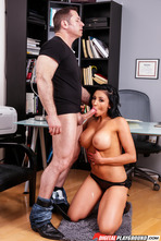 Busty Pornstar Audrey Bitoni Makes Hard Sex With Her Boss 05