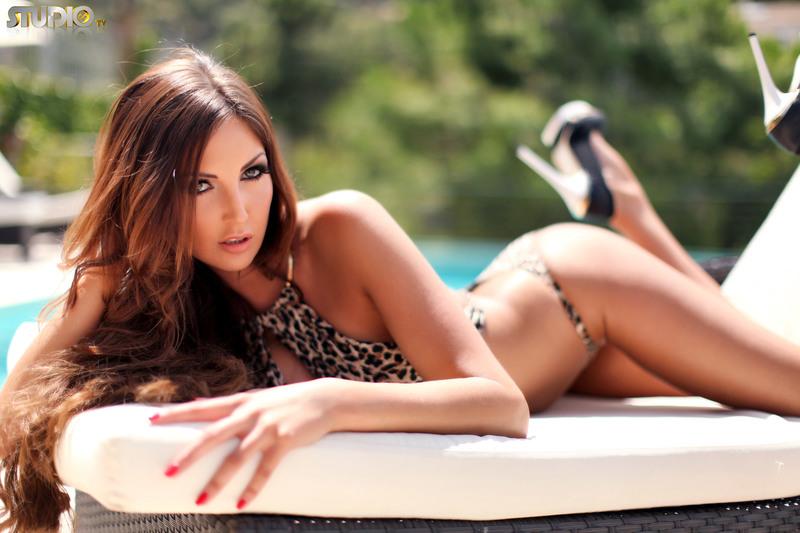 Cara Steel Leopard Bikini (11/21)