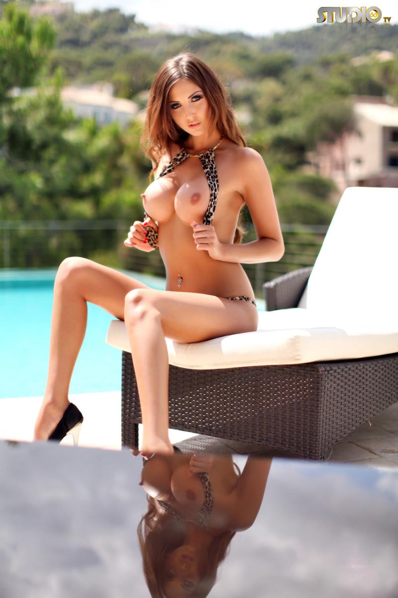 Cara Steel Leopard Bikini (19/21)