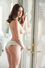 Sexy And Busty Lana Rhoades Strips To Naked 07
