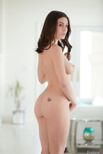 Sexy And Busty Lana Rhoades Strips To Naked 10