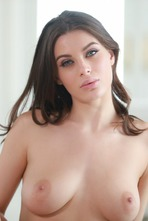 Sexy And Busty Lana Rhoades Strips To Naked 13