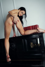 Marica Sexy Black Haired Babe Posing Nude 09