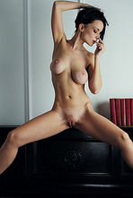 Marica Sexy Black Haired Babe Posing Nude 12