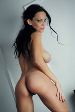 Marica Sexy Black Haired Babe Posing Nude 13