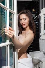 Adel Morel Nude In The Bathroom 01
