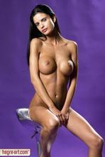 Helena Karel Sexy Nude Babe In Studio 00