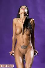 Helena Karel Sexy Nude Babe In Studio 03