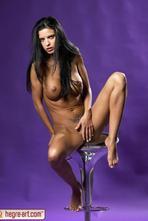 Helena Karel Sexy Nude Babe In Studio 06