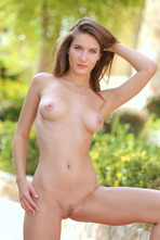 Beautiful Girl Elina Having Some Naked Fun Outside 17