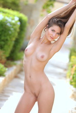 Beautiful Girl Elina Having Some Naked Fun Outside 19
