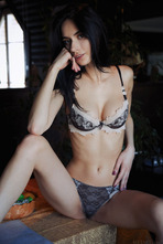 Dita V Wearing nothing but sexy lingerie 04