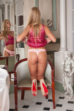 gorgeous blonde Ukrainian darling Sarika A realizes she's getting aroused 03