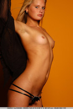 Andrea Sexy Blonde Girl Posing Naked 07