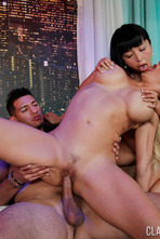 Claudia Valentine in Threeway with Marcia Hase 13