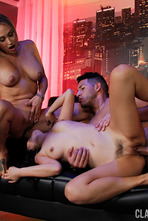 Claudia Valentine in Threeway with Marcia Hase 19