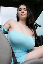 Huge Boobed Hotiie Babe Nadine Jansen 02