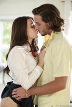 Sexy Brunette Lana Rhoades Makes Love 01