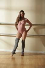 Sexy Ballerina Cassidy Klein Strips Off Her Pink Bodysuit 00