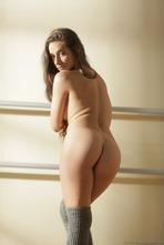 Sexy Ballerina Cassidy Klein Strips Off Her Pink Bodysuit 13