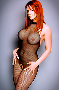 Bianca Beauchamp Black Fishnet