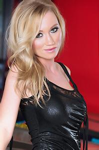 Madison Scott In Black Latex