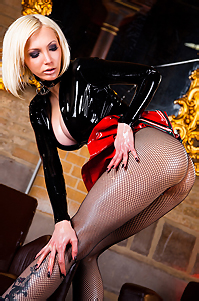 Susan Wayland Sexy Latex Punk