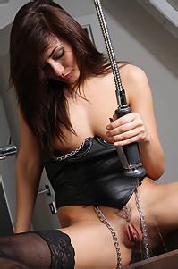 Michaela In Sexy Black