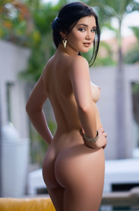 Hot And Sexy Plaboy Playmate Babe Malena Show Her Fantastic Ass