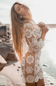 Carmella Rose Sexy Lace Dress