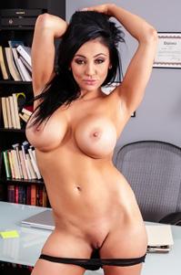 Big Boobed Slut Audrey Bitoni Waiting For You After Work