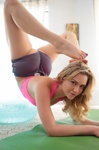 Mia Malkova Yoga Master