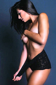 Camila Banus Topless But Covered