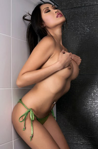 Showering Beauty Davon Kim