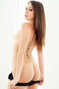 Riley Reid In Sexy Black Bodysuit