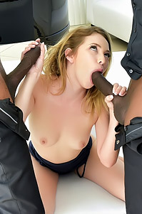 Angel Smalls Anal Fucked By Two Dicks