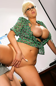 Luxurious Office Secretary Carly Parker