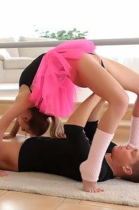 Petite Ballerina Katy Rose Gets Fucked