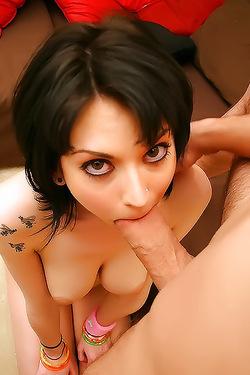 Riley Mason Licking Dick