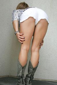 Little White Shorts