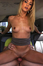 Hottie Mila Bus Fuck