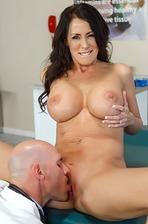 Slutty Wife Reagan Foxx Cheats Her Husband With The Doctor