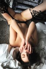 beautiful Belgian brunette Amelie Belain